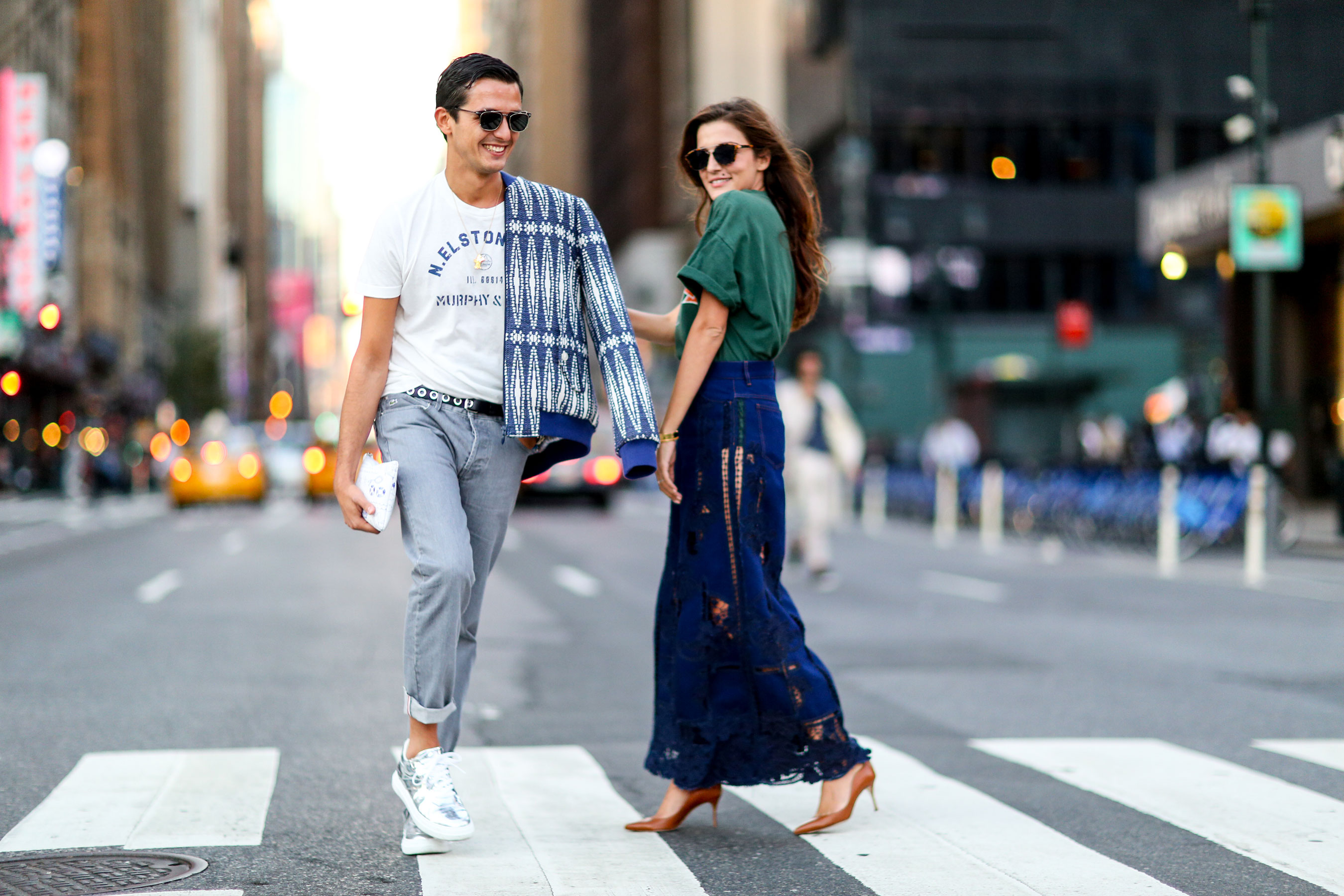 New York Fashion Week Spring Summer 2016 Street Style Thecreativepattern 39 S Blog